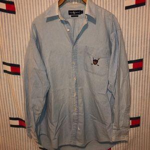 Vintage polo by Ralph Lauren golf button up shirt